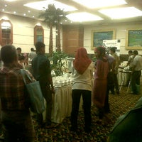 Photo taken at ball room 1 Labersa Grand Hotel by Cas S. on 5/6/2012