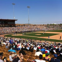 Photo taken at Camelback Ranch - Glendale by Andrew O. on 3/9/2012