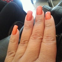 Photo taken at L`Amour Nails and Spa by Linda O. on 6/23/2012