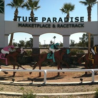 Photo taken at Turf Paradise by Diana M. on 3/3/2012