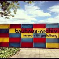 Photo taken at Bauhaus-Archiv by Benjamin F. on 7/9/2012