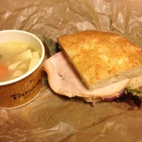 Photo taken at Panera Bread by Jeremy K. on 7/31/2012
