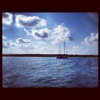 Photo taken at Martin Harbor Island by Tomoko J. on 5/18/2012