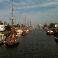 Photo taken at Museumshafen Greifswald by Juergen S. on 4/28/2012