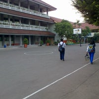 Photo taken at SMP N 73  tebet timur by erlien a. on 9/3/2012