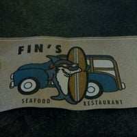 Photo taken at Fin's Restaurant by Mindy P. on 8/12/2012