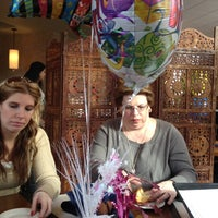 Photo taken at Positano Mediterranean Grill by Claudia N. on 2/18/2012