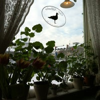 Photo taken at Cafe Silltruten by Jg on 2/5/2012
