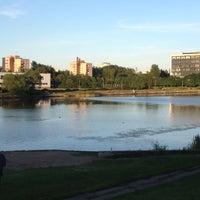 Photo taken at Ольгинский пруд by Артур М. on 7/4/2012