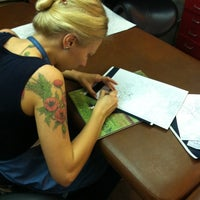 Photo taken at Bang Bang Custom Tattoo Shop by Konstantin H. on 9/9/2012