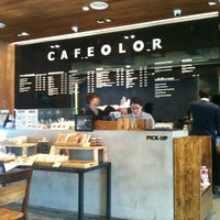Photo taken at CAFE OLOR by 혜영 정. on 4/17/2012