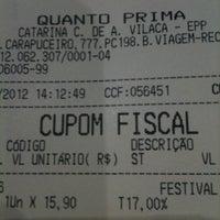 Photo taken at Quanto Prima by Helio F. on 5/10/2012