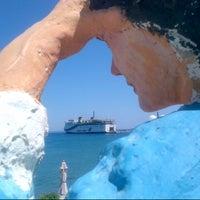Photo taken at Diafani by Nia A. on 8/23/2012