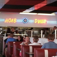 Photo taken at Moab Diner by Steve B. on 5/25/2012
