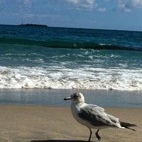 Photo taken at Lantana Beach by Anna B. on 2/15/2012