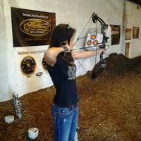 Photo taken at Deer Creek Archery by Diana R. on 5/8/2012