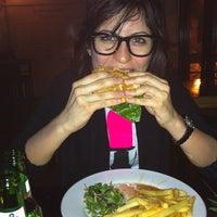 Photo taken at Blue Frog by Chiara B. on 4/4/2012
