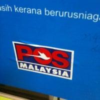 Photo taken at Pos Malaysia by Ryan T. on 6/7/2012