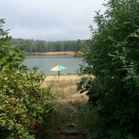 Photo taken at Зарёвское озеро by Денис Г. on 8/15/2012
