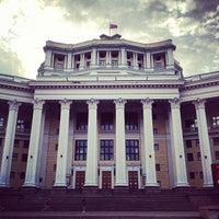 Photo taken at Центральный академический театр Российской армии by Daria K. on 7/1/2012