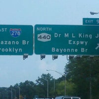 Photo taken at Interstate 278 (Staten Island Expy) by Gbehlee S. on 8/17/2012