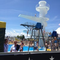 Photo taken at Stadio Del Nuoto by Sara D. on 6/5/2012