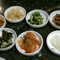Photo taken at Jang Soo Restaurant by Ellen M. on 4/29/2012