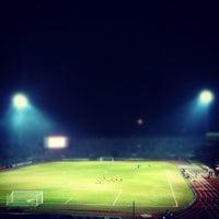 Photo taken at Stadium Negeri by Ahmad D. on 6/23/2012
