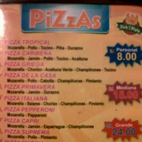 Photo taken at picka pizza by Milagros E. on 6/20/2012