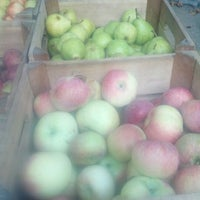 Photo taken at Tucker Square Greenmarket by Brynne Z. on 9/1/2012