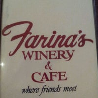 Photo taken at Farina's Winery & Cafe by Carolyn L. on 3/14/2012