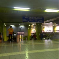 Photo taken at Stasiun Gambir by Sandra F. on 7/15/2012