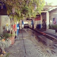 Photo taken at Mission Car Wash by Melanie N. on 4/16/2012