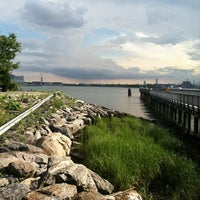 Photo taken at Barretto Point Park by Damian C. on 7/29/2012