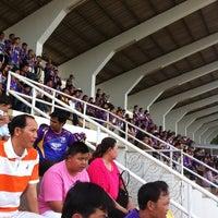 Photo taken at Sing Buri Stadium by manlika s. on 9/9/2012