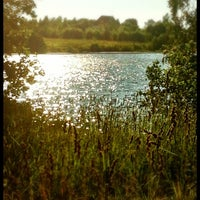 Photo taken at Озеро Сювеярви (Хиттоловское) by Alexandra E. on 7/10/2012