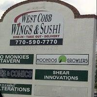 Photo taken at West Cobb Wings & More by Jermaine (DJ JTK) on 6/9/2012