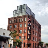 Photo taken at Wythe Hotel by David R. on 8/25/2012