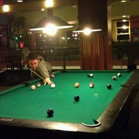 Photo taken at Blue Fin Cafe & Billiards by Darion B. on 2/16/2012