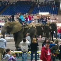 Photo taken at Indiana Farmers Coliseum by Andy W. on 3/4/2012