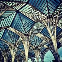 Photo taken at Gare do Oriente Train Station by Natalia M. on 2/19/2012