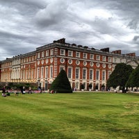 Photo taken at Hampton Court Palace Gardens by Jiri K. on 8/27/2012
