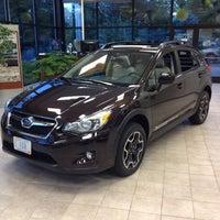 Photo taken at Charlie's Subaru by Bill B. on 8/27/2012