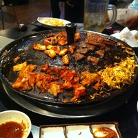Photo taken at Honey Pig Korean BBQ by Grace R. on 5/22/2012