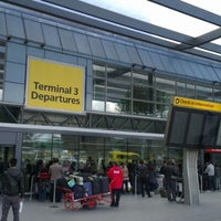 Photo taken at Terminal 3 by Ben W. on 4/21/2012