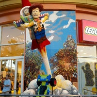 Photo taken at The LEGO Store by Mandi B. on 8/25/2012