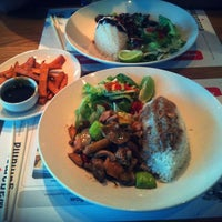 Photo taken at wagamama by Alex B. on 8/30/2012