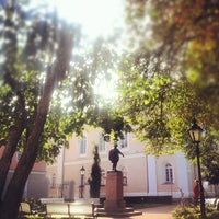 Photo taken at University of Tartu main building by Jaana M. on 8/30/2012