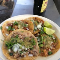 Photo taken at Tacos El Pastorcito by Ismael C. on 8/25/2012
