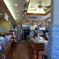 Photo taken at 石窯パン工房 グレンツェン 都城店 by meisui4kou on 9/7/2012